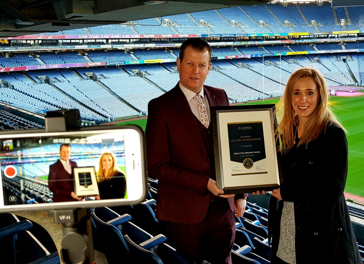 Luxury guided Tours of Ireland Delighted to receive Business All-Star Accreditation