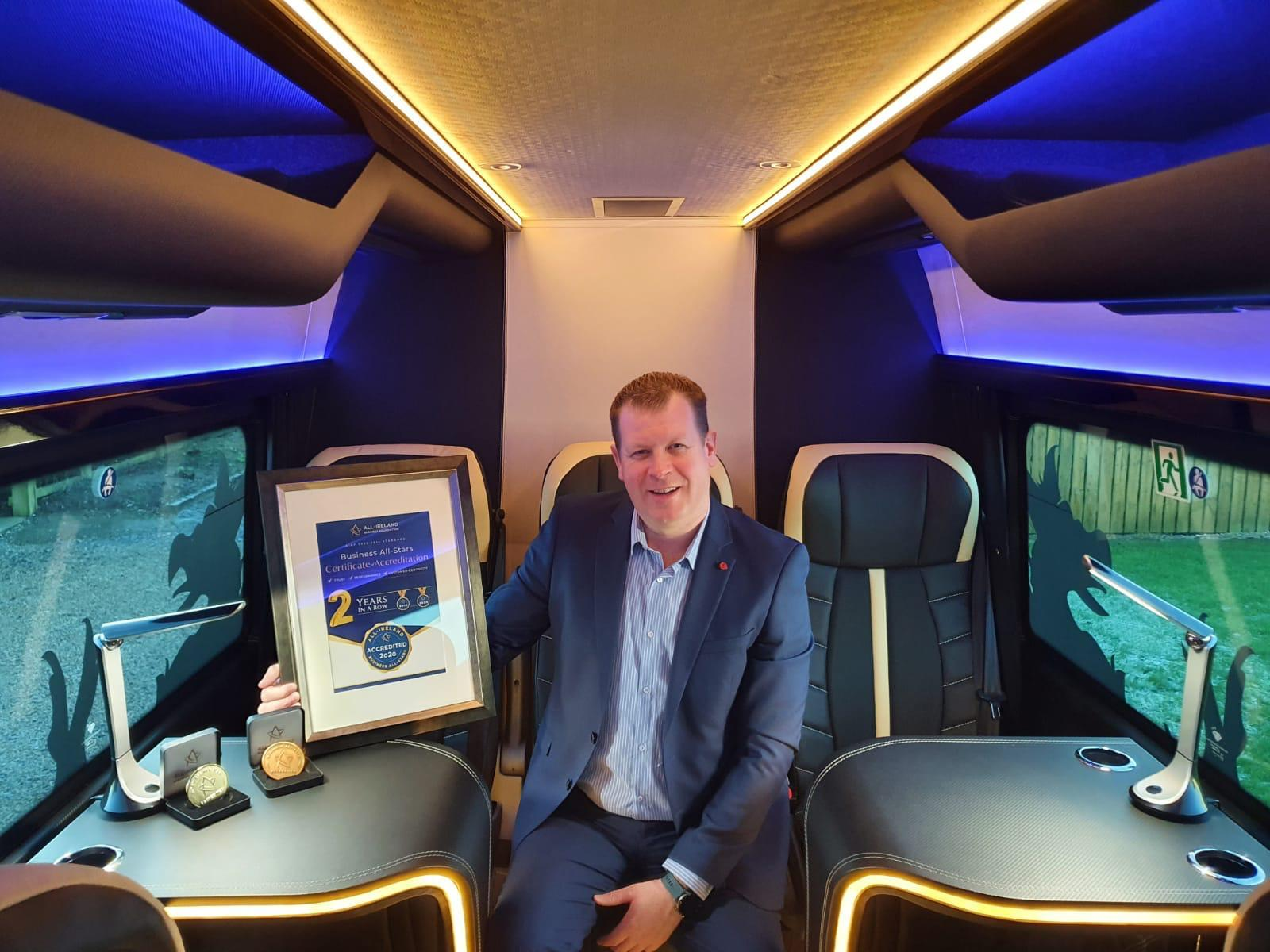 Luxury guided Tours of Ireland All-Ireland All-Star Coach Hire Company 2021